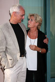 Michael Gross & Meredith Baxter — Stock Photo