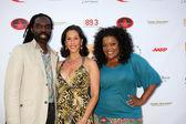 Kevan Hall , Liz Levitt, Yvette Nicole Brown — Stock Photo