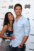 Roselyn Sanchez and Eric Winter — Foto Stock