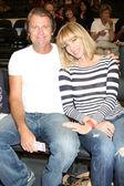 Vince Van Patten & Eileen Davidson — Stock Photo