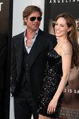 Brad Pitt and Angelina Jolie — Stock Photo
