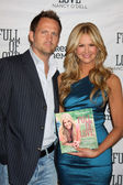Nancy O'Dell & Husband — Stock Photo