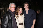 Paul Rauch,Amelia Heinle, and Thad Luckinbill — Stock Photo