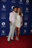 Jason Mraz and Colbie Caillat 'Cue — Stock Photo