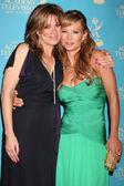 Nancy Lee Grahn & Sarah Brown — Stock Photo