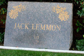 Jack Lemmon Grave — Stock Photo