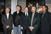 Rodney Charters, Michael Klick, Kiefer Sutherland, Jon Cassar, Kelsey McNeal — Stock Photo