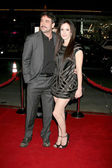 Jeffrey Dean Morgan, Mary Louise Parker — Stock Photo