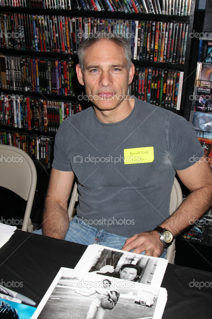 Russell Todd Russell Todd at Signing of the