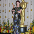 Costume designer Sandy Powell, winner of Best Costume Design award for 'The — Stock Photo #12961671