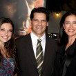 Chris Ciaffa, daughter Lucy Julia Rogers-Ciaffa, Mimi Rogers — Stock Photo