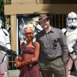 AhsokTano charachter and Dave Filoni — Stock Photo #12963437
