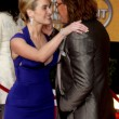 Kate Winslet & Mickey Rourke - Stockfoto