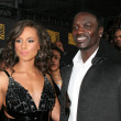Alicia Keys and Akon - Lizenzfreies Foto