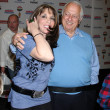 Tommy Lasorda & Kate Linder — Stock Photo