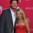 Royalty-Free Stock Photo: Blake Shelton and Miranda Lambert