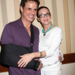 Christian LeBlanc and Judith Chapman — Stock Photo