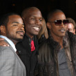 F. Gary Gray, Tyrese Gibson, & Jamie Foxx — Stock Photo #12968406