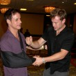 Christian LeBlanc & Billy Miller — Stock Photo