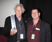 Bruce Dern & Film Festival Director, Bill — Stock Photo