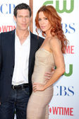 Dylan Walsh, Poppy Montgomery — Stock Photo
