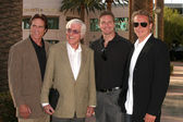 Dick Van Dyke & Son Barry, and grandsons Carey & Shane Van Dyke — Stock Photo