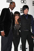 Snoop Dogg, Paula Abdul, & Adam Lambert — Stock Photo