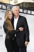 James Cameron, Suzy Amis — Stock Photo