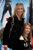 Heather Thomas & Daughter — Stock Photo