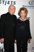 Kirk Douglas & Anne Douglas — Stock Photo
