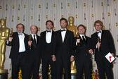 Bradley Cooper, Gerard Butler, Joe Letteri, Stephen Rosenbaum, Richard Baneham, Andrew Jones — Stock Photo