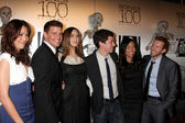 Michaela Conlin, David Boreanaz, Emily Deschanel, John Francis Daley, Tamara Taylor, TJ Thyne — Stock Photo