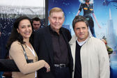 Sumner Redstone, Wife, with Brad Grey — Stock Photo
