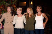 Kristian Alfonso, Melissa Reeves, Kate Mansi, Sarah Joy Brown — Stock Photo