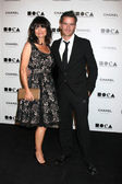 Rosetta Getty, Balthazar Getty — Stock Photo