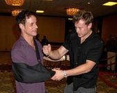 Christian LeBlanc & Billy Miller — Stock Photo