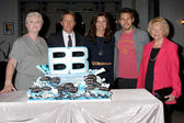 Susan Flannery, Brad Bell, Heather Tom, Scot Clifton, Lee Bell — Foto Stock