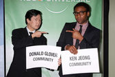 Ken Jeong, Donald Glover — Stock Photo