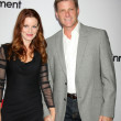 Laura Leighton, Doug Savant — Stock Photo