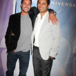 Stock Photo: Taylor Kinney & Cliff Curtis