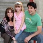 Kate Linder, Samantha Bailey, & Thom Bierdz — Stock Photo
