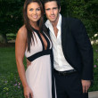 Nadia Bjorlin and Brandon Beemer — Stock Photo