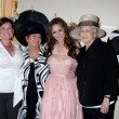 Stock Photo: Michelle Hewitt (Sister-in-law), Pat Hewitt (Mom), Jennifer Love Hewitt, and Charlaotte Shipp (Grandma)