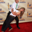 Mark Ballas & Shawn Johnson — ストック写真