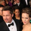Постер, плакат: Brad Pitt and Angelina Jolie
