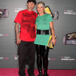 Carey Hart and singer Pink - ストック写真