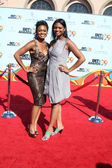 Tatyana Ali and her sister Anastasia Ali — Stock Photo