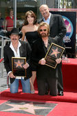 Kix Brooks & Ronnie Dunn, with Dr. Phil & Robin Mc Graw — Stock Photo