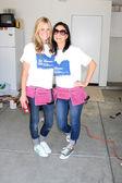 Amy Bean & Estella Gardinier — Stock Photo