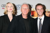 Lilly McDowell, Malcolm McDowell and Charlie McDowell — Stock Photo